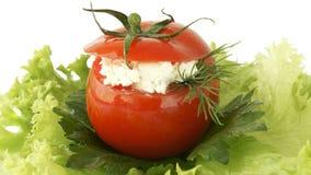 Stuffed tomato Stock Images