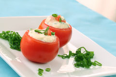 Stuffed tomatoes Royalty Free Stock Photos