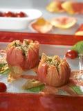 Stuffed tomatoes Royalty Free Stock Photo