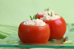 Stuffed tomatoes Royalty Free Stock Image