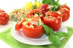Stuffed tomatoes Royalty Free Stock Photography