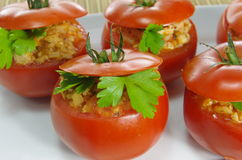 Stuffed tomatoes Stock Image