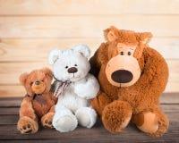 Stuffed Toy Animal. Child Animal Homemade Giraffe Knitting Offspring Stock Image