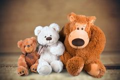 Stuffed Toy Animal Royalty Free Stock Images