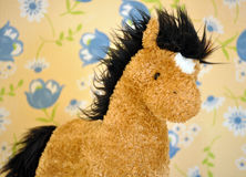 Stuffed toy horse Royalty Free Stock Image