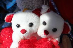 Stuffed Toy, Red, Plush, Textile Stock Photo