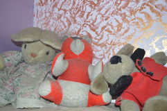 Stuffed toys Royalty Free Stock Images