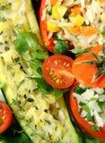 Stuffed Vegetable Background Stock Image