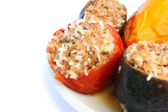Stuffed vegetables Stock Photography