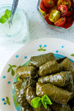 Stuffed vine leaves Royalty Free Stock Image