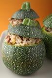 Stuffed zucchini Stock Image