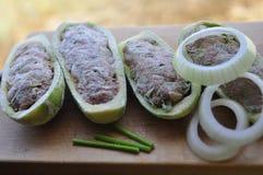 Stuffed Zucchini 2 Stock Images