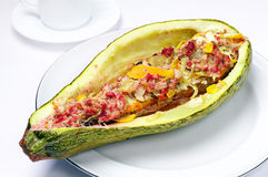 Stuffed zucchini Royalty Free Stock Image