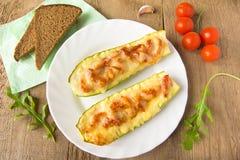 Stuffed zucchini Royalty Free Stock Photo