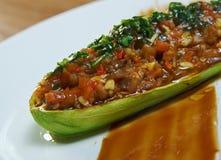 Stuffed Zucchini Stock Photos