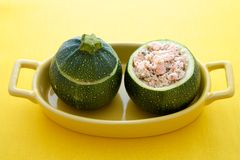 Stuffed zucchini Royalty Free Stock Images