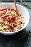 Stuffing. With fresh thyme, cherry and cranberry Royalty Free Stock Image