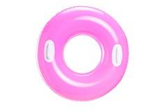 Stufio tiró de un anillo rosado de la natación Imagen de archivo