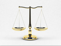 Stuft Gold ein Lizenzfreies Stockbild