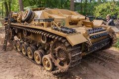StuG III Ausf D на событии Militracks Стоковые Изображения RF