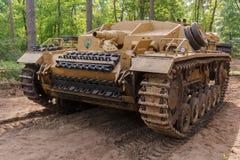 StuG III Ausf D przy Militracks wydarzeniem Zdjęcie Stock
