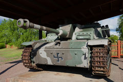Stug III Ausf G Ps.531-8 - German self-propelled artillery during the Second world war, closeup Royalty Free Stock Image