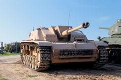 Stug 3 - tanktorpedojager Royalty-vrije Stock Foto