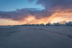 Stuga på stranden Royaltyfria Bilder