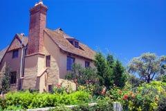 Stugahus - Coronado, San Diego USA royaltyfria bilder