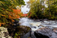 Stugaland Quebec Kanada Fotografering för Bildbyråer