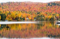 Stugaland Quebec Kanada Royaltyfri Fotografi