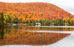 Stugaland Quebec Kanada Royaltyfri Bild