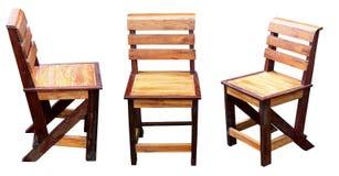 Stuhl auf einem weißen Hintergrund. Lizenzfreie Stockfotos