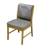 Stuhl auf einem weißen Hintergrund Lizenzfreies Stockfoto