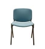 Stuhl auf weißem Hintergrund Stockfoto