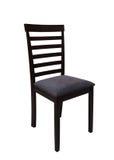 Stuhl auf weißem Hintergrund stockfotografie