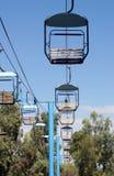 Stuhl-Aufzüge in der Wüste Lizenzfreies Stockbild