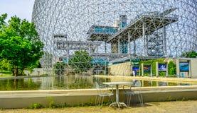 Stuhl Biosphre Montreal Kanada Lizenzfreies Stockfoto