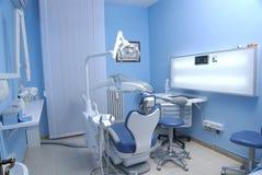 Stuhl des Zahnarztes Stockfotos