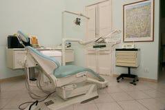 Stuhl des Zahnarztes Stockfotografie