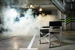 Stuhl für den Direktor Stockbild