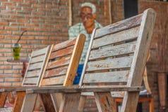 Stuhl 3 für Lebensstil lizenzfreies stockfoto