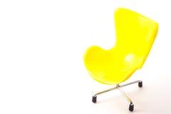 Stuhl gemacht durch Plastik Lizenzfreie Stockfotografie