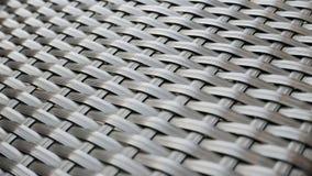 Stuhl-gewebtes Material Stockbild