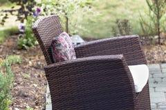 Stuhl im Freien Stockfotos