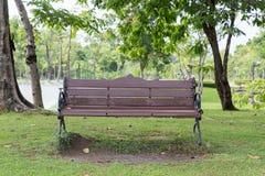Stuhl im Garten Lizenzfreie Stockfotos