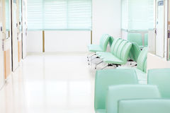 Stuhl im Krankenhaus stockfoto