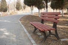 Stuhl im Park Lizenzfreie Stockfotografie