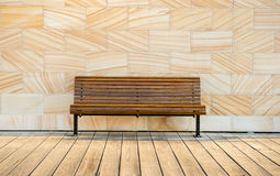 Stuhl im Park Stockfoto