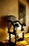 Stuhl im Schloss Stockfoto
